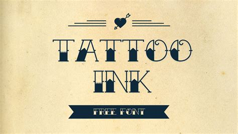 free tattoo fonts 10 retro fonts free for commercial pinspiry