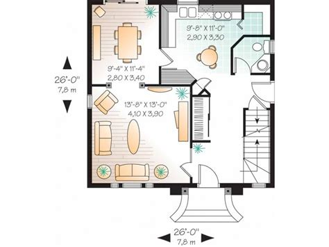 home design in 100 gaj eplans second empire house plan french townhouse 1365