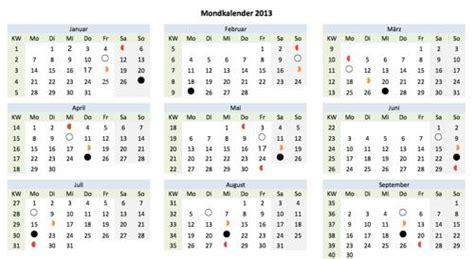 mondkalender mit sternzeichen 2014 5538 wochenplaner zum ausdrucken muster und vorlagen kostenlos