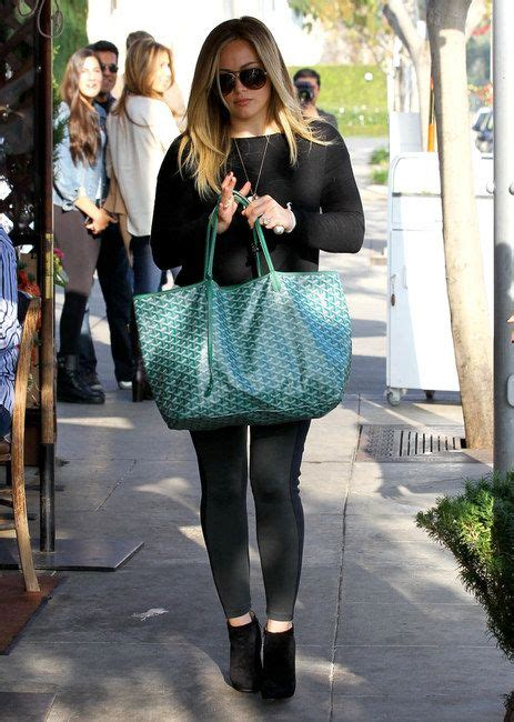 Other Designers Hilary Duff With Designer Travel Bags by Hilary Duff Photograph Hilary Duff Hilary