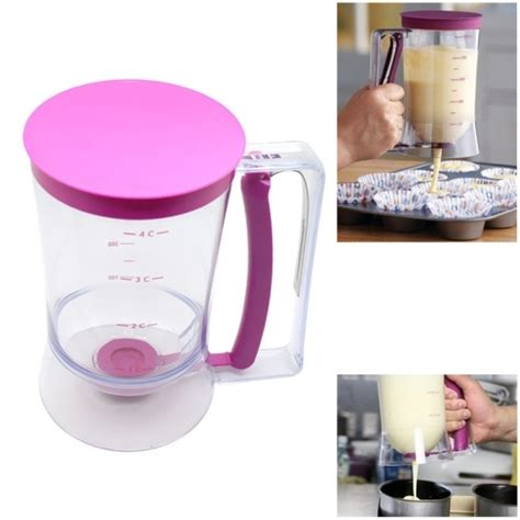 cupcake batter dispenser 900ml batter dispenser cupcake measuring cup alex nld