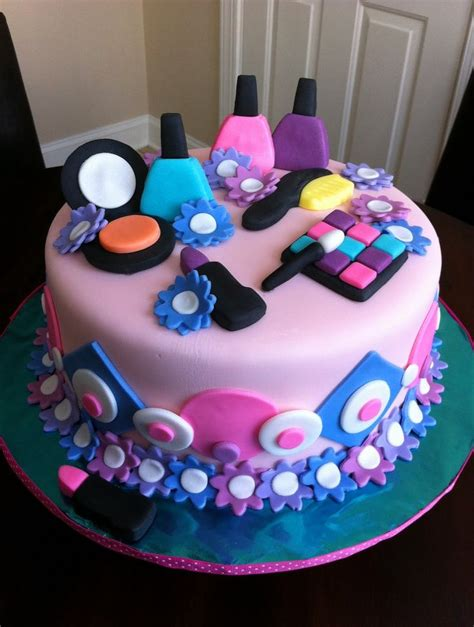 girl themes for cakes spa birthday party for women spa themed birthday cake