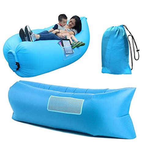 inflatable sofa lounge happycell 174 outdoor inflatable lounger portable lightweight
