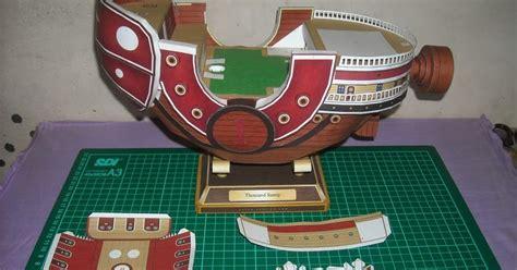 Papercraft Thousand - bencox maboxz thousand papercraft