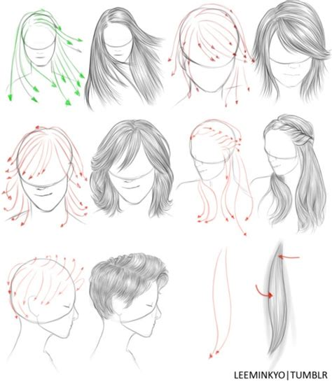 simple hairstyles drawing drawn hair simple pencil and in color drawn hair simple