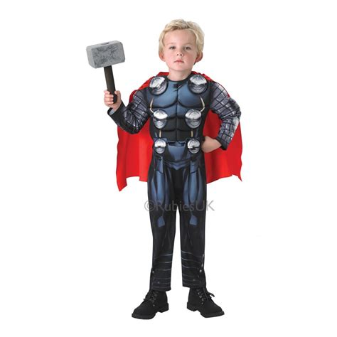 thor premium boys costume costumes thor deluxe fancy dress costume
