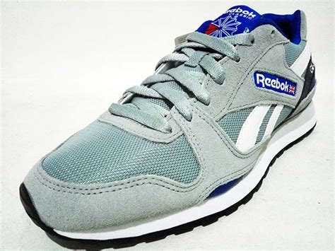 Sepatu Badminton Reebok sepatu reebok classic gl 3000 mens m49787 baseball grey royal white gudang sport