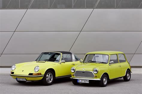 Classic Mini Says Happy 50th Birthday To Porsche 911
