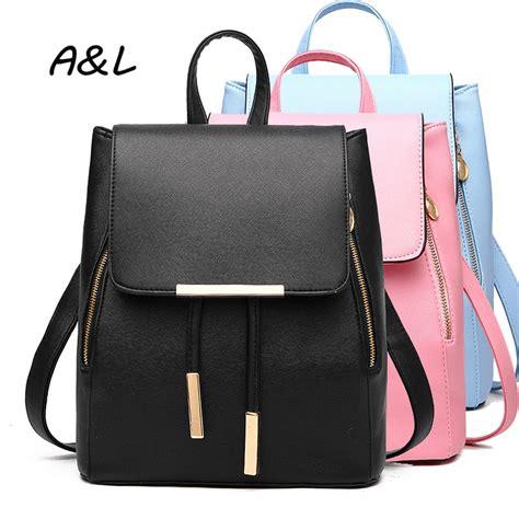 Play No More For Korea Designer Handbag backpack korean brand designer pu leather backpack school bag college wind