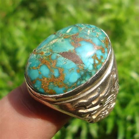 Batu Akik Ada Urat Kode 45 cincin pirus urat emas dunia pusaka sakti