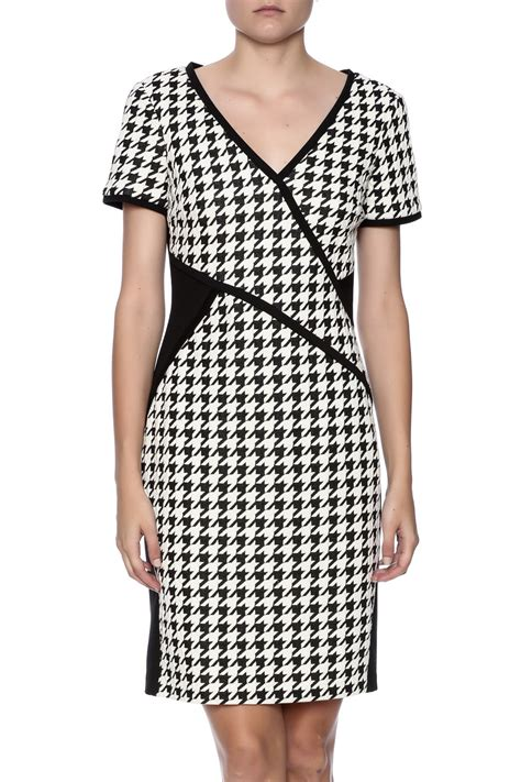 Dress Houndstooth cartise houndstooth dress from maryland by aspire s
