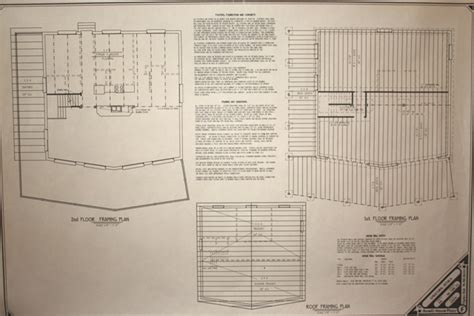 cabin blueprint cabin plans