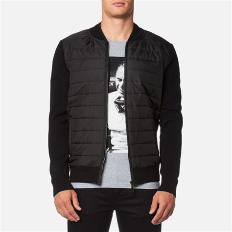 Zip Through Coach Jacket barbour international s baffle zip through jacket