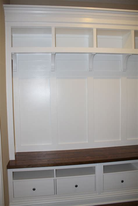Mudroom Bench With Storage Mudroom Storage From An Ikea Hack