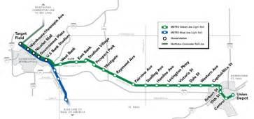 Minnesota Light Rail Metro Green Line