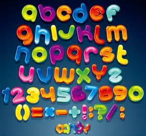free vector がらくた素材庫 アルファベット記号の光沢あるデザイン creative gloss