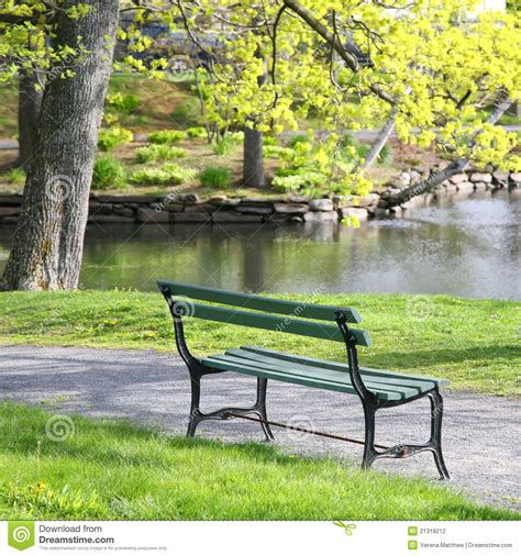 park bench productions park bench stock photo image of empty peaceful grass