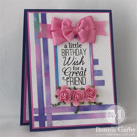 make my birthday card really reasonable ribbon a birthday wish for