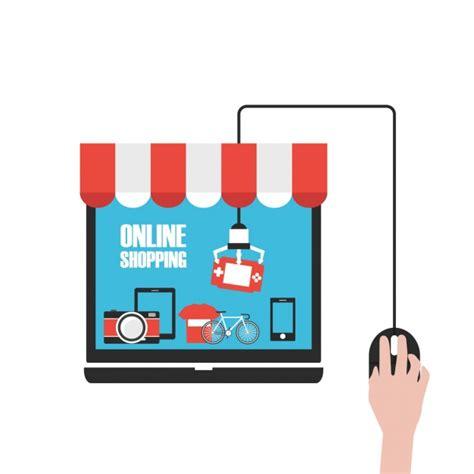background online shop shopping online background vector free download