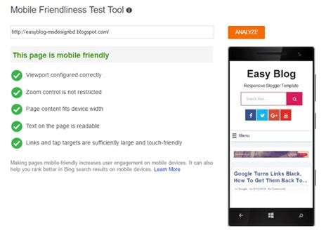 mobile friendly templates for blogger easy blog responsive and seo blogger template