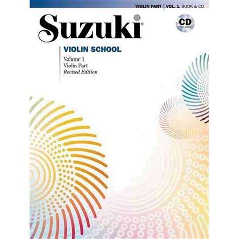 volume 1 books suzuki violin school method book and cd volume 1 shar