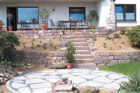 terrasse naturstein blumenstein garten und landschaftsbau terrassen naturstein