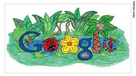 doodle 4 back to nature third grader wins doodle contest scitechblog