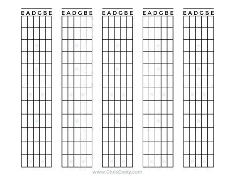 guitar fretboard template diagram blank mandolin fretboard diagram