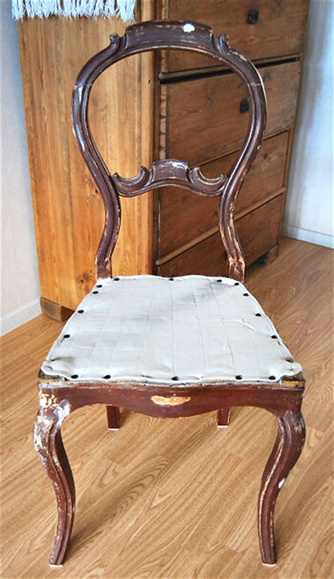 Diy Chair Restoration by 19th Century Chair Restoration Diy Part 1 Rags To Couture