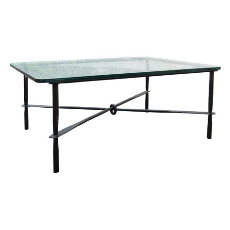 Iron And Glass Coffee Table Iron And Glass Coffee Table