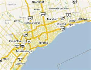 list of settlements in the greater toronto area