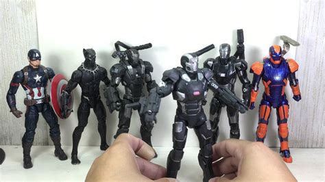 Lego Bootleg Iron War Machine Marvel Civil War Lele marvel legends war machine and 27 disco armor iron