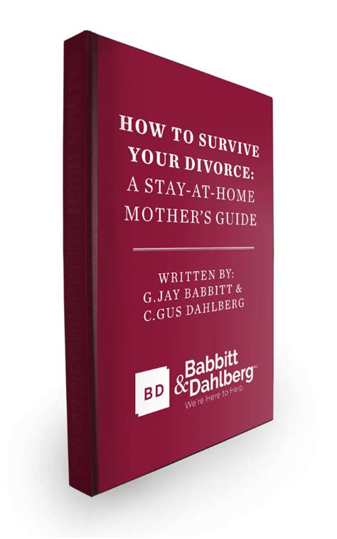 free ebook for divorcing stay at home babbitt