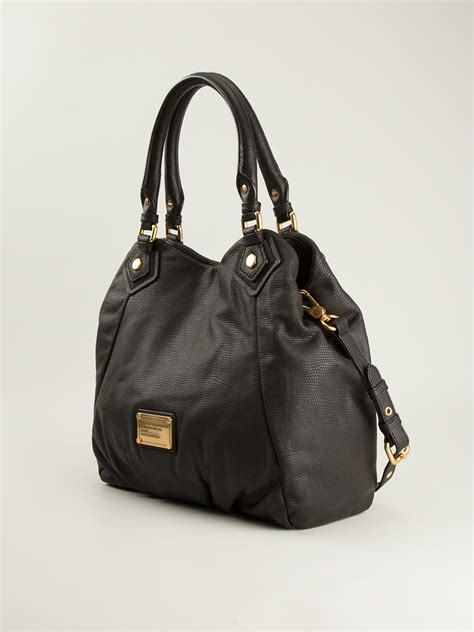 Marc Black marc by marc classic q fran tote in black lyst