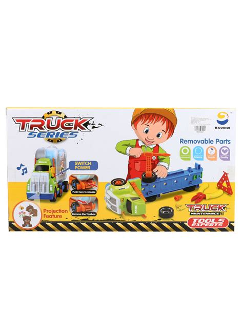 Mainan Tools Play Set Mainan Perkakas northland toys truck maintenance tools exrert box