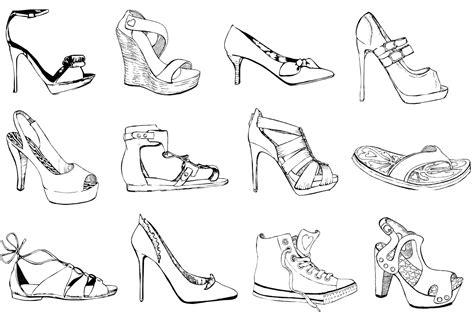 imagenes de zapatos a lapiz chipi artesan 237 a ilustraci 243 n