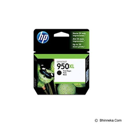 Hp Tinta Cartridge 21 Black Diskon jual hp black ink cartridge 950xl cn045aa murah