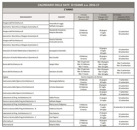 calendario sedute di laurea calendario degli esami