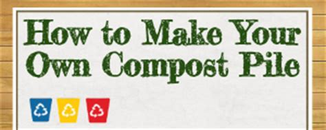 how to make a compost pile in your backyard compost pile at home how to make it instructographic