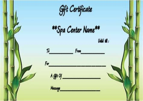 therapy gift certificate template 25 unique gift certificate template word ideas on