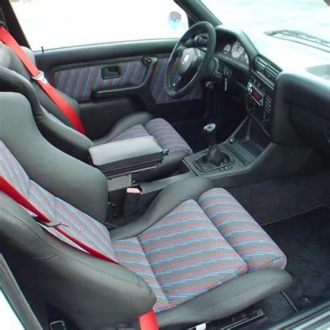 Bmw M3 White Interior by Bmw E30 M3 Evo 3 Interior Seat Cloth Bimmercloth