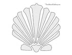 Clamshell Template by Clamshell Stencil Free Stencil Gallery