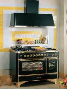 wonderful Blue And Yellow Kitchen Decor #1: retro-kitchen-design-vintage-stove-1.jpg