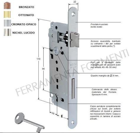 serratura porta interna serratura per porta legno agb b00591
