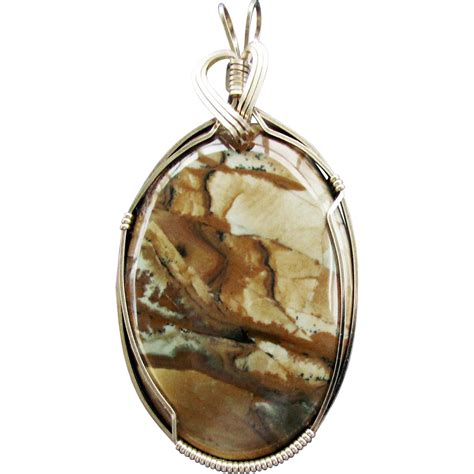 landscape picture jasper pendant from 4sot on ruby