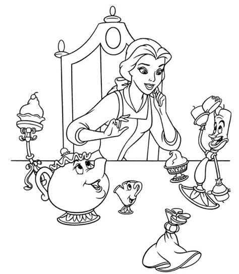 baby belle coloring pages free coloring pages of disney baby princesses