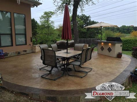 concrete patios san antonio home design ideas and pictures