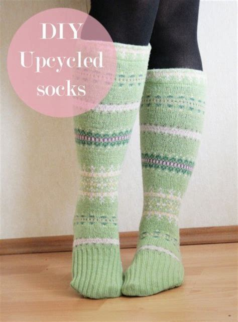 diy socks 21 unique ways to upcycle sweaters into something adorable