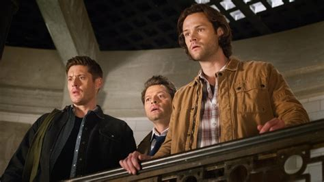 christopher russell supernatural supernatural season 14 premiere see jensen ackles as