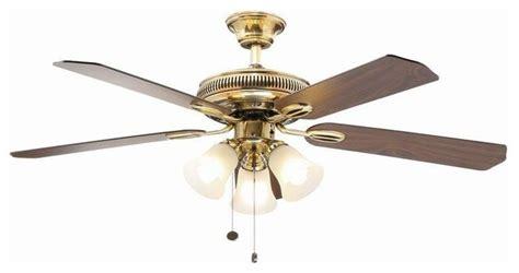 hton bay glendale ceiling fan hton bay ceiling fans glendale 52 in flemish brass